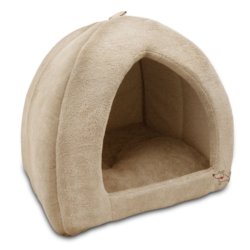 Amazon.com  Pet Tent - Soft Bed for Dog and Cat Best Pet Supplies Extra Large Tan  Pet Supplies  sc 1 st  Amazon.com & Amazon.com : Pet Tent - Soft Bed for Dog and Cat Best Pet ...