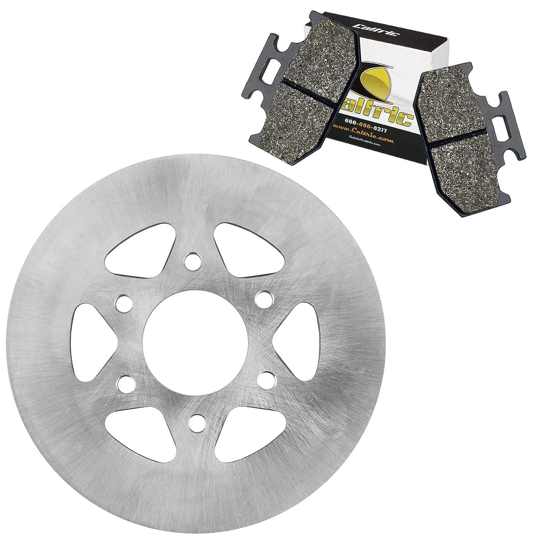 CALTRIC REAR PARKING BRAKE DISC ROTOR w//PADS FITS Yamaha RHINO 700 YXR700 4X4 2008-2013
