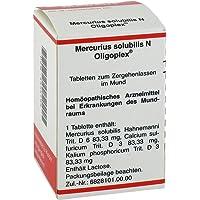mercurius solubilis N oligoplex 150pastillas)