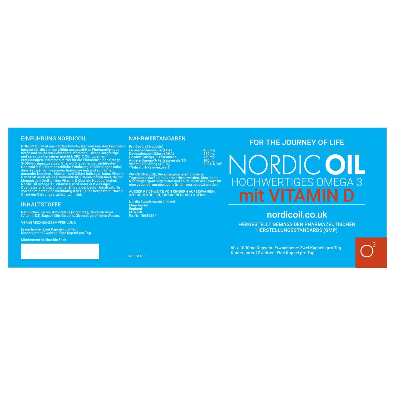 Omega 3 - Aceite de Pescado con Vitamina D 1000MG: Amazon.es: Electrónica
