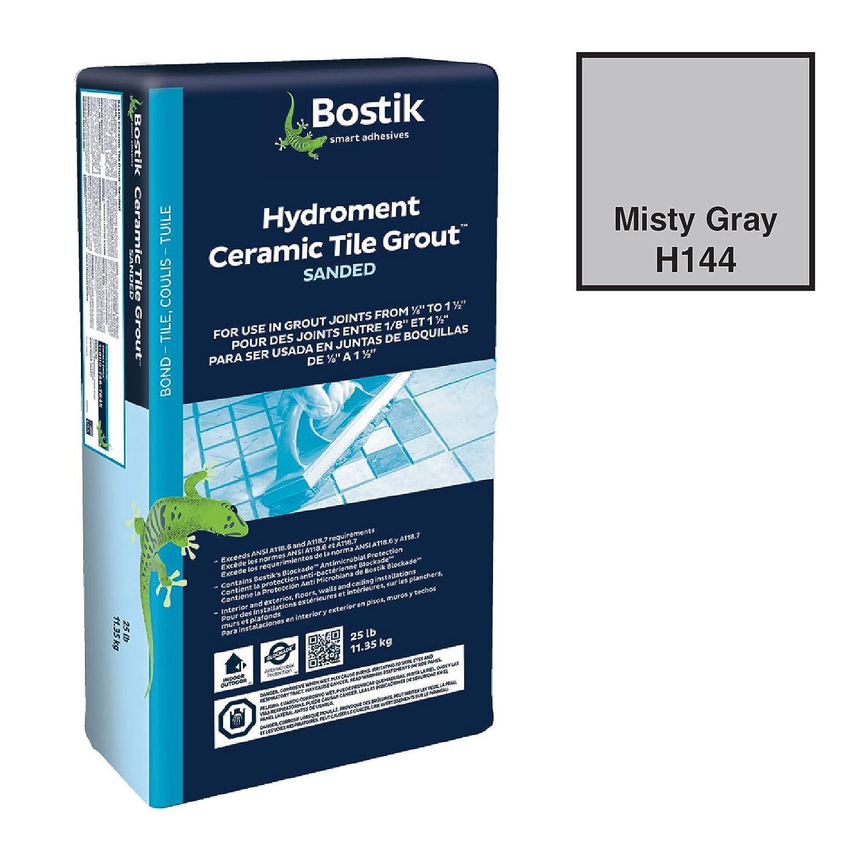 Bostik 25 dry sanded grout misty gray tile grout amazon nvjuhfo Images