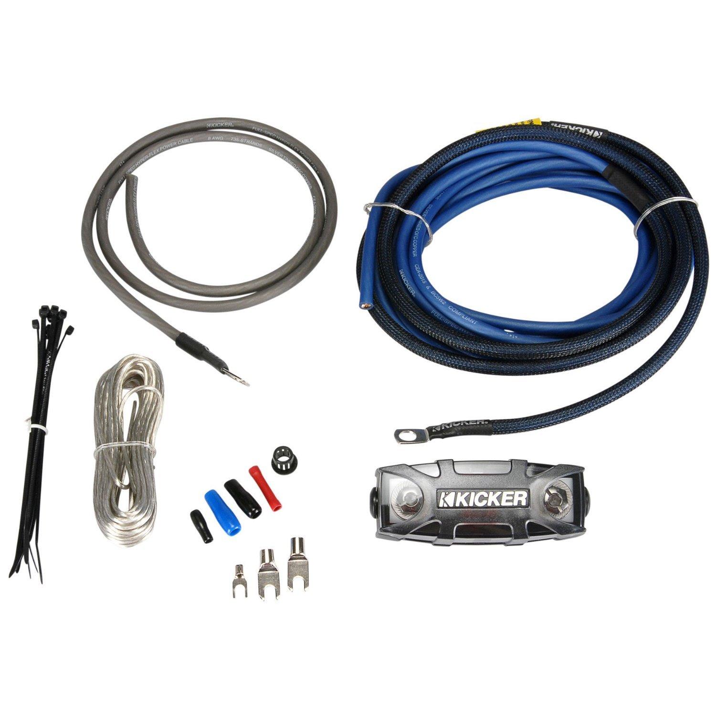 Amazon.com: Kicker PK8 8 Gauge OFC Power Amplifier Installation Kit: Cell  Phones & Accessories