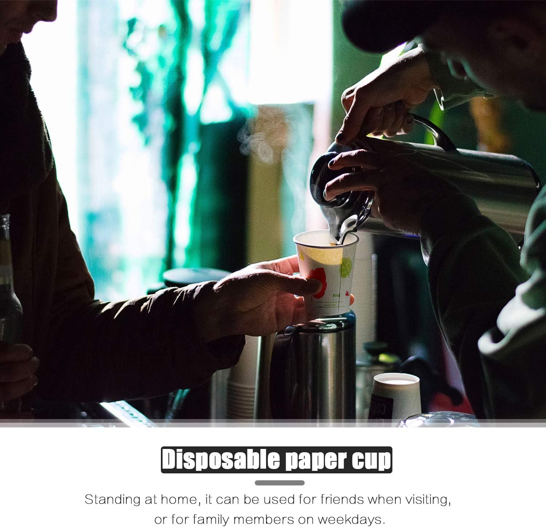 Pour boissons chaudes et froides le bureau et la f/ête Pour la maison Lot de 100 gobelets /à eau en papier de 200 ml