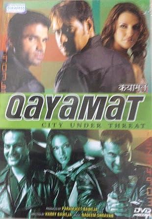 Amazoncom Qayamat City Under Threat Ajay Devgan Sunil Shetty
