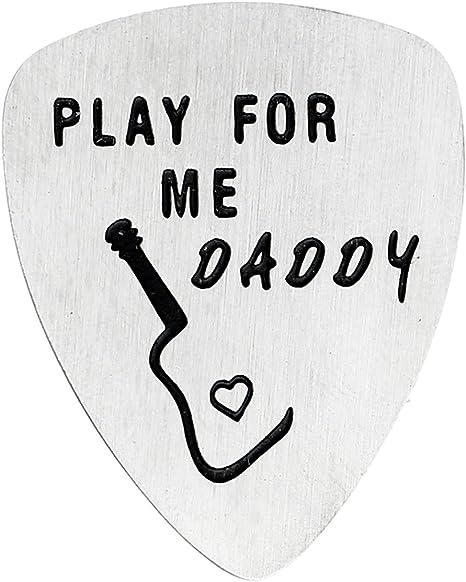 bespmosp Play para Me Daddy púa de guitarra Papá regalo para joyería para Padre Dad: Amazon.es: Instrumentos musicales