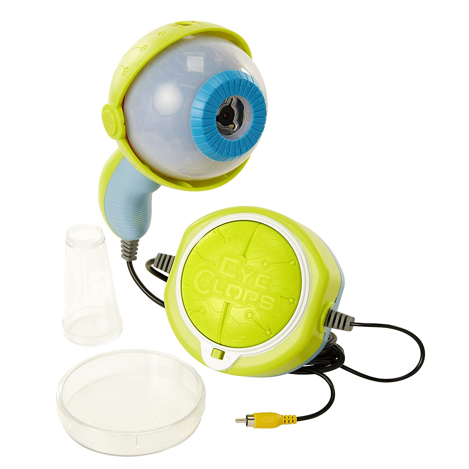 EyeClops Video Microscope Toy Magnify Objects 200x On Your Tv Jakks 09388