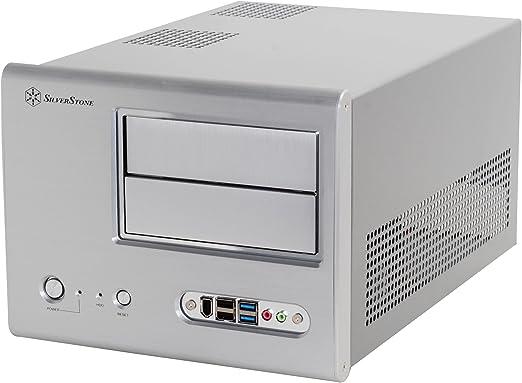 SilverStone SST-SG01S-F USB 3.0 - Carcasa de Ordenador Cubo Sugo Micro ATX, Plata: Amazon.es: Informática