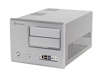 SilverStone SST-SG01S-F USB 3.0 - Carcasa de Ordenador Cubo Sugo Micro ATX, Plata