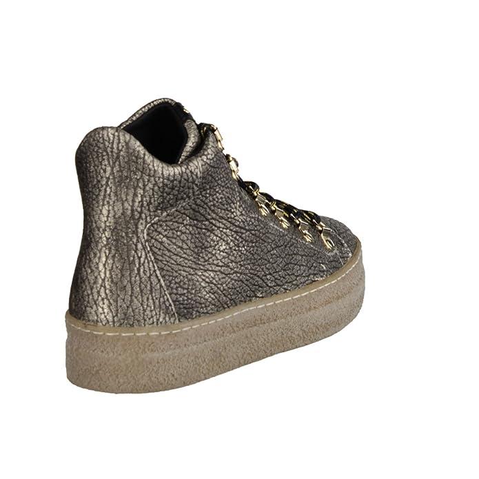 Donna Carolina Tristano 34.168.123- Damenschuhe Modische Stiefelette,  Mehrfarbig, Leder: Amazon.de: Schuhe & Handtaschen