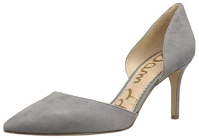 c464ad7fa Sam Edelman Women s Telsa Pump Grey Frost Suede 9 Medium US
