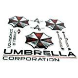 Umbrella Corporation Biohazard Résident Evil Voiture Stickers Autocollants Ensemble Deux