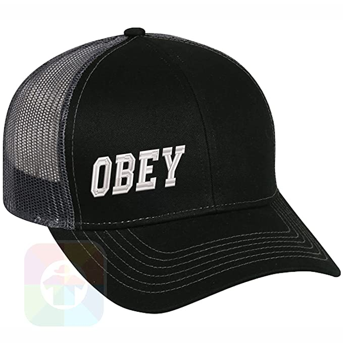 Obey Structured Snapback Baseball Mesh Hat Cap  1061 at Amazon Men s  Clothing store  7ddf755b947