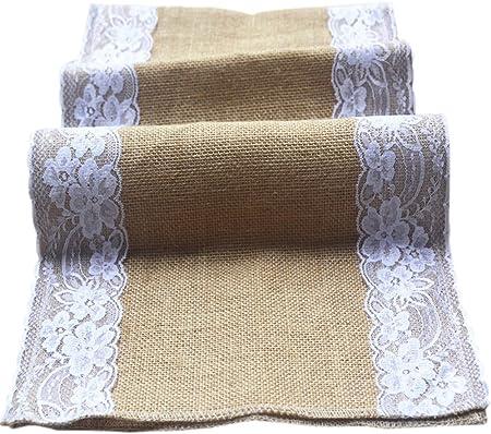 ☆ Material: Yute; Tamaño: 30*275cm.,☆ La corredor mesa es muy buena, resistente al desgaste, no solo