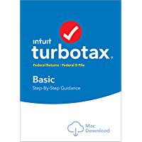 TurboTax Premier + State 2018 Fed Efile MAC Download [Amazon Exclusive]