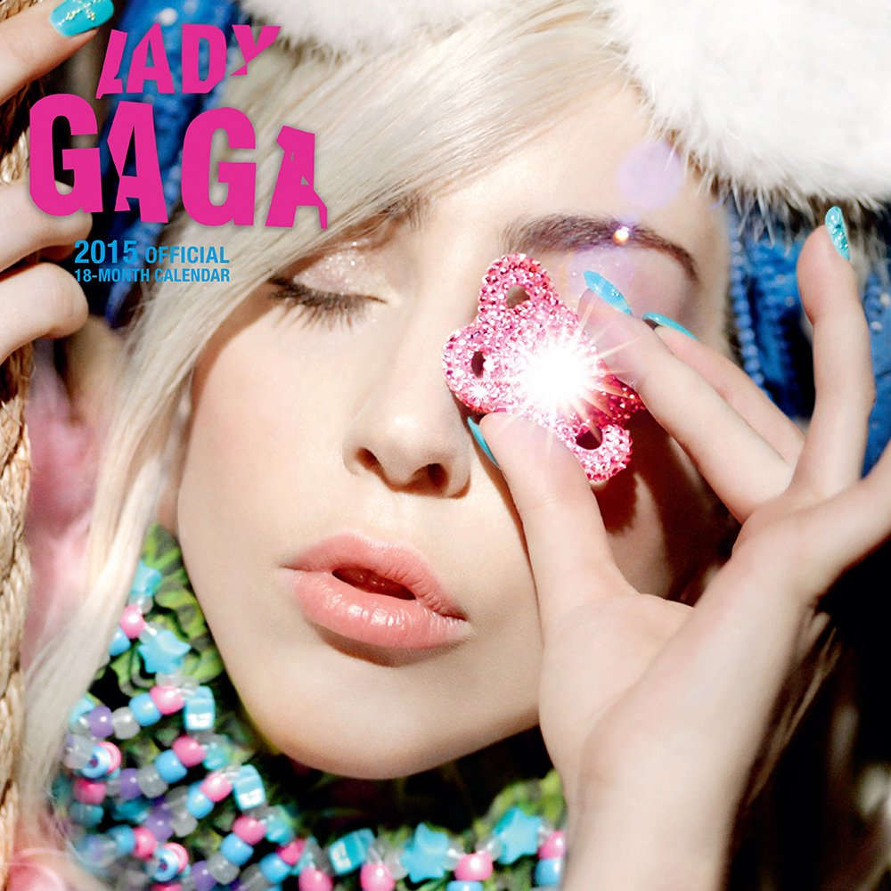 Lady Gaga 2015 Square 12x12 Bravado (Multilingual Edition
