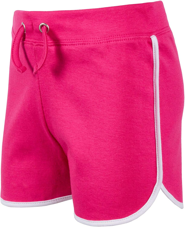 Girls 100/% Cotton Jersey Shorts Kids Teens Summer Holiday Sports Short Joggers