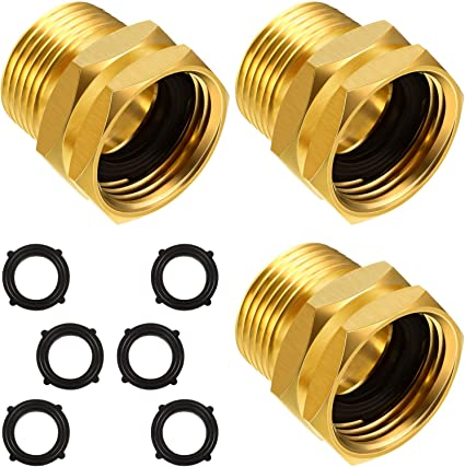 NPT 3//4/'/' Female Thread 16mm Hose Barbed Fitting Coupler Connector Adapter