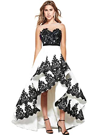 The 8 best black and white prom dresses under 100