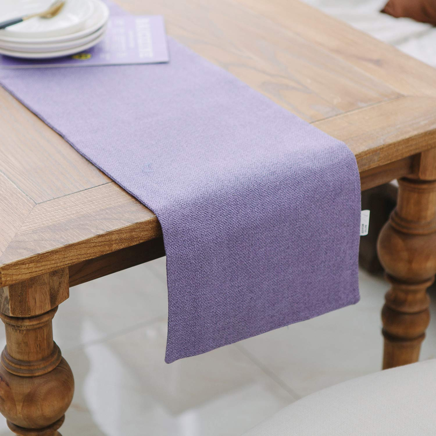 Admirable Natus Weaver Dining Table Runner 12 X 36 Inches Kitchen Room Dinner Wedding Birthday Party Burlap Rustic Table Runner Lilac Download Free Architecture Designs Intelgarnamadebymaigaardcom