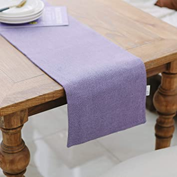 Superb Natus Weaver Dining Table Runner 12 X 36 Inches Kitchen Room Dinner Wedding Birthday Party Burlap Rustic Table Runner Lilac Download Free Architecture Designs Intelgarnamadebymaigaardcom