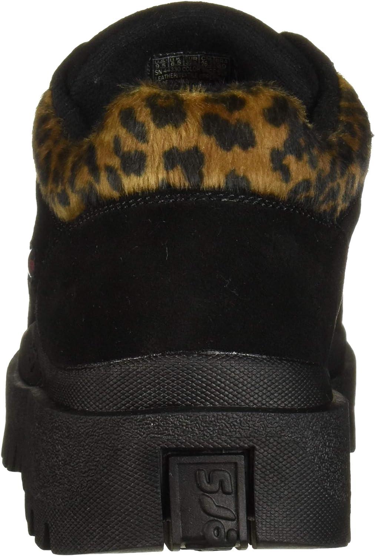 Jammers Skechers Womens Shindigs-Growl-5-eye Leapard Collar Oxford