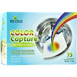 Ecosa 75 Count Dye-Trapping Sheet- Clothes Dye Catchers -Keep Clothes Original Colours