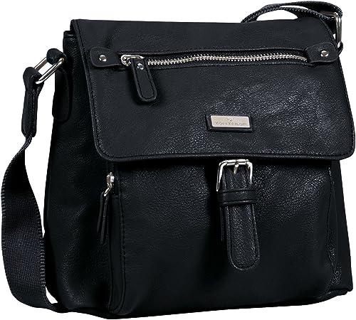 Tom Tailor Acc Rina Pu 18303 Damen Henkeltaschen 23x13x24 Cm B X H X T Schwarz Schwarz 60 Schuhe Handtaschen