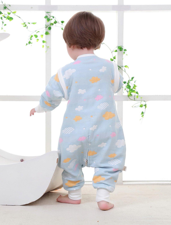 8c59104e964d Baby Sleepsuit Sleep Wear Removable Sleeves Breathable Sleeping Bag ...