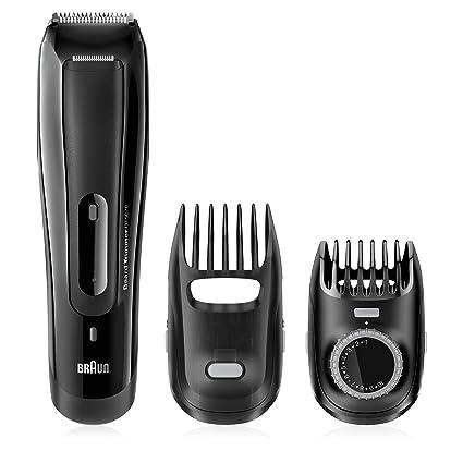 64a228c91 Amazon.com: Braun BT5070 Men's Beard Trimmer, Cordless & Rechargeable,  Black: Beauty
