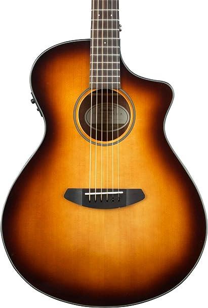 Breedlove Discovery Concert Ce Sunburst Acoustic/electric Guitar W/ Gigbag High Quality Guitars & Basses