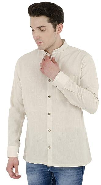 SKAVIJ Hombres Casual Camisa Corto Manga Botón Abajo Vestir Algodón Camisa Regular Ajuste bxWvyUQHlf