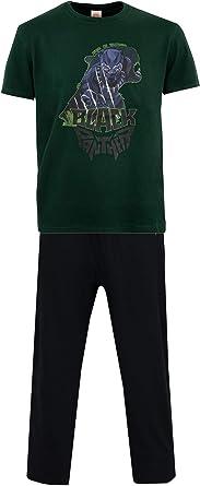 Marvel Pijama para Hombre Black Panther