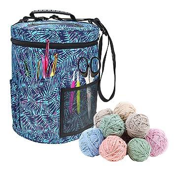 Gaeruite Premium Knitting Garn Tasche Organizer- Zylinder Häkelnadel ...