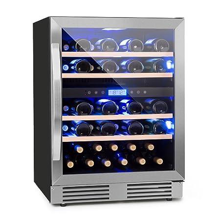 Klarstein Vinovilla Duo43 - Nevera para vinos, Nevera para bebidas ...