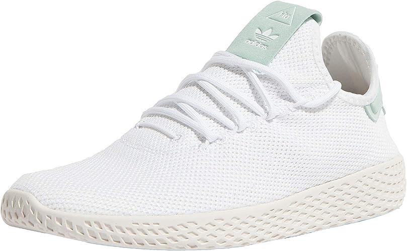 profesor Ganar Confusión  adidas Originals PW Tennis HU Shoes White 2018 46 White,White,46 EU:  Amazon.fr: Chaussures et Sacs