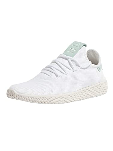 337908bd6f287e adidas Originals Herren Pharrell Williams Tennis HU Weiß Textil Sneaker 38