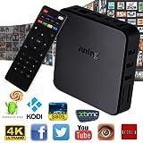 juning WiFi Android TV Box 6.0, 1GB RAM + 8GB ROM Quad Core Cortex A532.4GHz