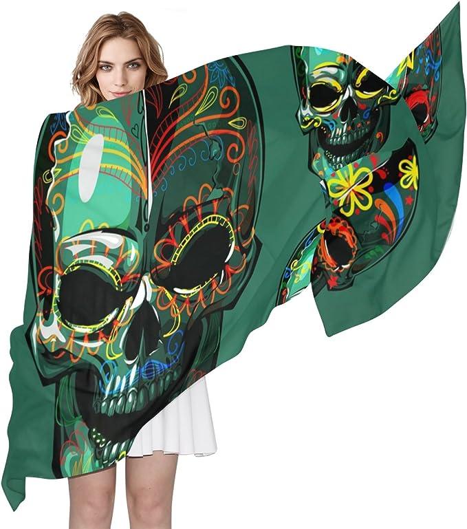 Acheter foulard echarpe bandana tete de mort online 13