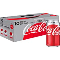 Coca-Cola Diet Soft Drink Multipack Cans, 10 x 375 ml