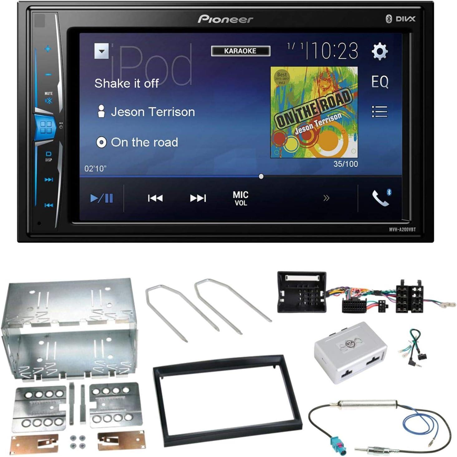 Pioneer Mvh A200 Vbt Usb Bluetooth Mp3 Wma Car Stereo Elektronik