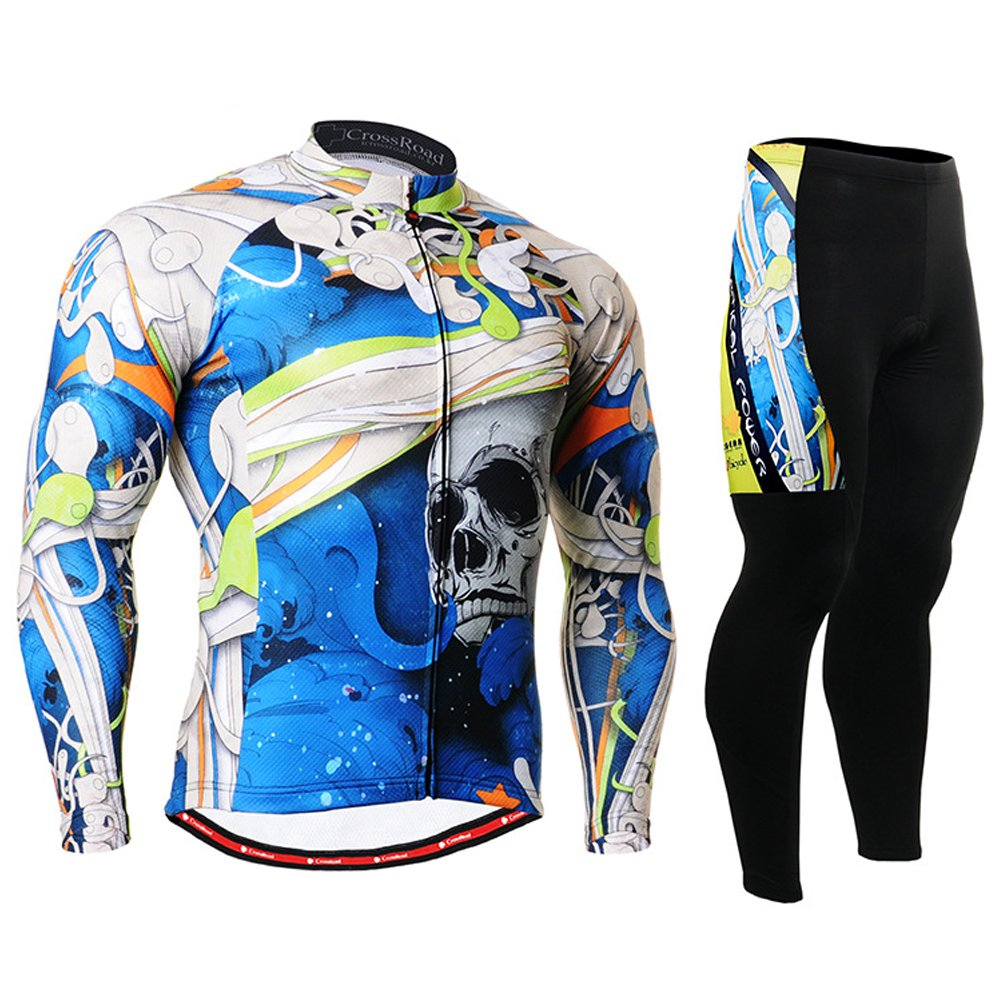 Cycling MTB Motorcycle Workout Compression Sportwear Sport Suit Y118
