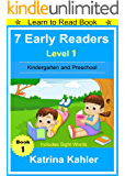 Early Readers: Level 1 Sight Words Book - 7 Easy to Read Stories with Sight Words: Learn to Read Book for Beginner Readers (English Edition)