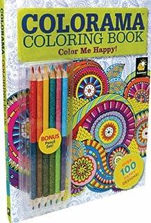 Colorama Coloring Book Color Me Happy