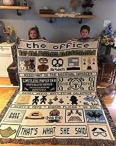 FOAL14 Office Woven Blanket 2019