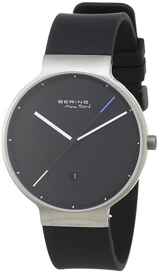 Bering Time 12639-872 - Reloj analógico de cuarzo para hombre con correa de plástico, color multicolor: Amazon.es: Relojes