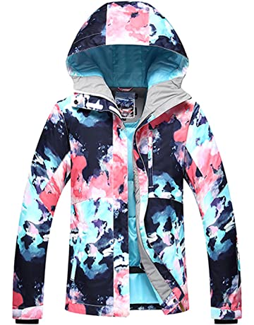 e7d0690a9a APTRO Women s ski Snowboard Jacket Waterproof Warm Winter Lined Jacket