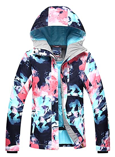 ade2f6754e APTRO Women s Ski Snowboard Jacket Waterproof Warm Winter Lined Jacket   1798 XS