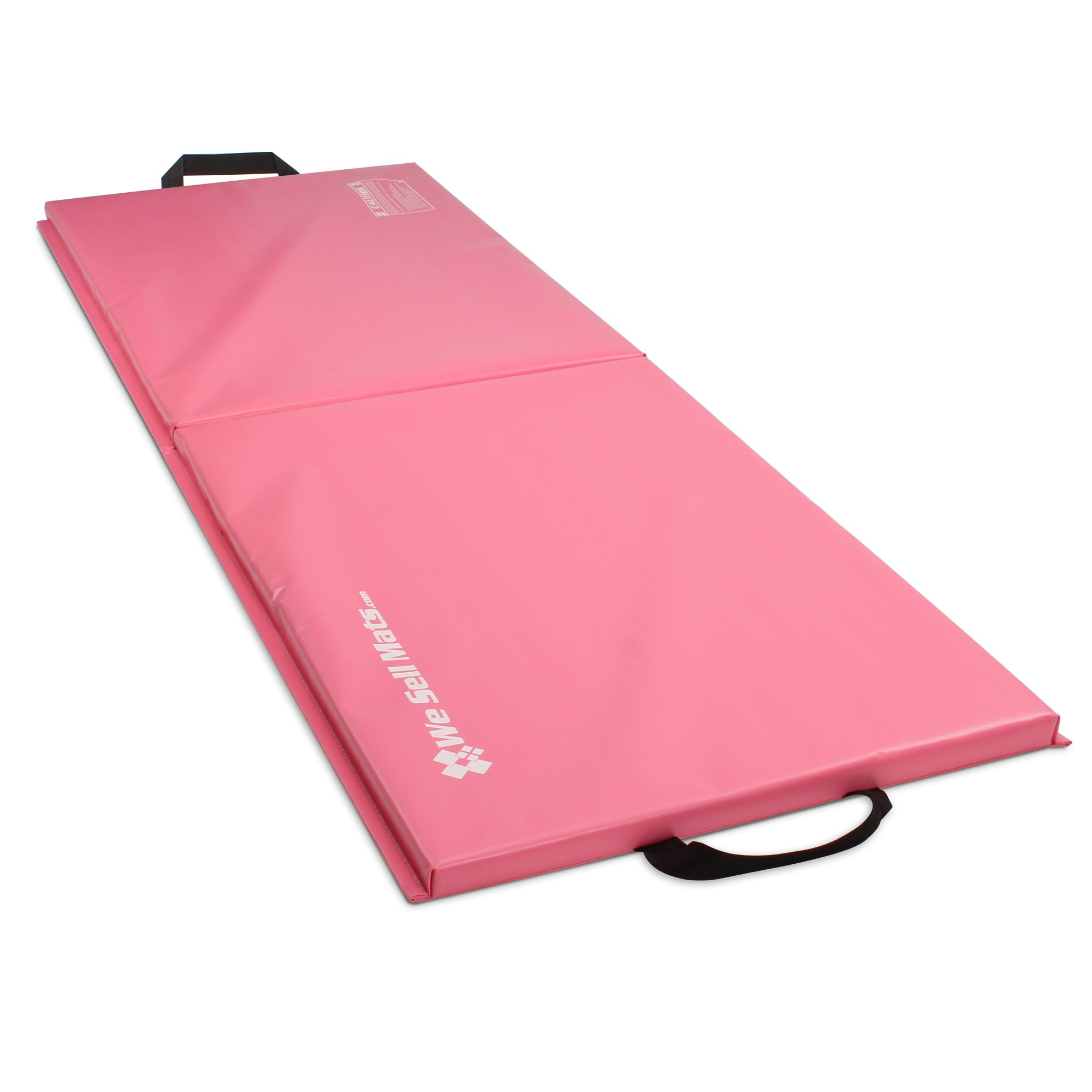 We Sell Mats 2x6 Folding Exercise Mat, Pink