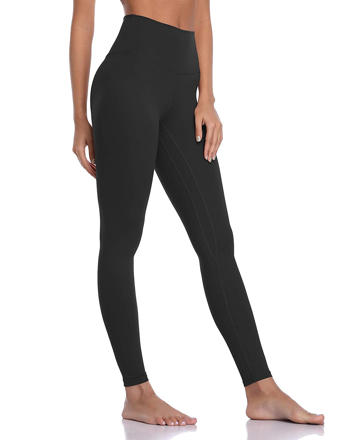 5f8877e6b88c3 Amazon.com: Colorfulkoala Women's Brushed Buttery Soft High Waisted Leggings  Full Length Yoga Pants: Clothing