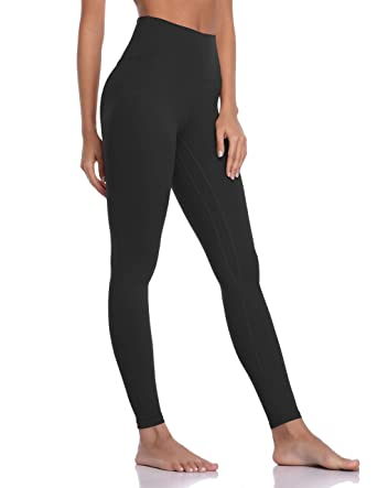 1443dfa3f6080 Colorfulkoala Women's Brushed Buttery Soft High Waisted Leggings Full  Length Yoga Pants (XS, Black